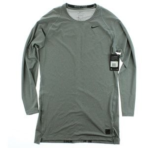 Nike Pro Cool Compression Top Shirt Grey Heather